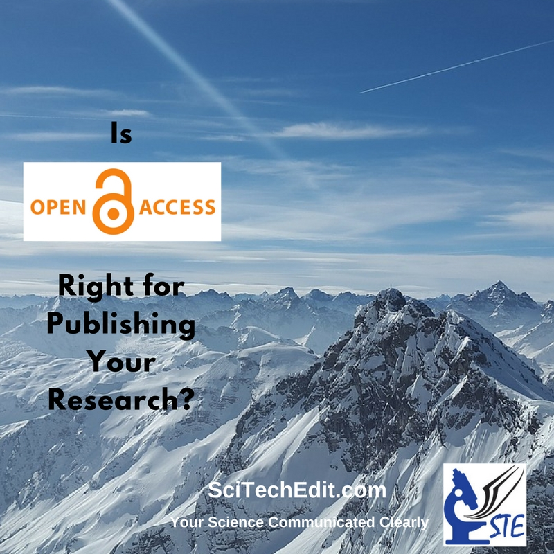 STE Is OA right for your research. OA Icon