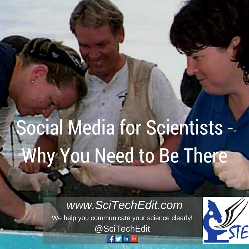 Social Media for Scientists - Why You Need to Be There