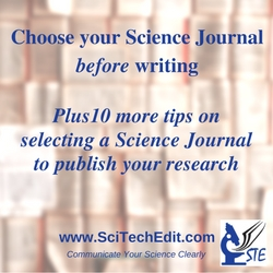 STE rev. Choose your Science Journal before writing