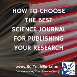 The Guide to Choosing the Best Science Journal for Publishing Your Research
