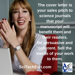 STE rev The cover letter is your sales pitch to science journals
