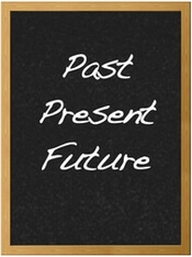 chalk past present future
